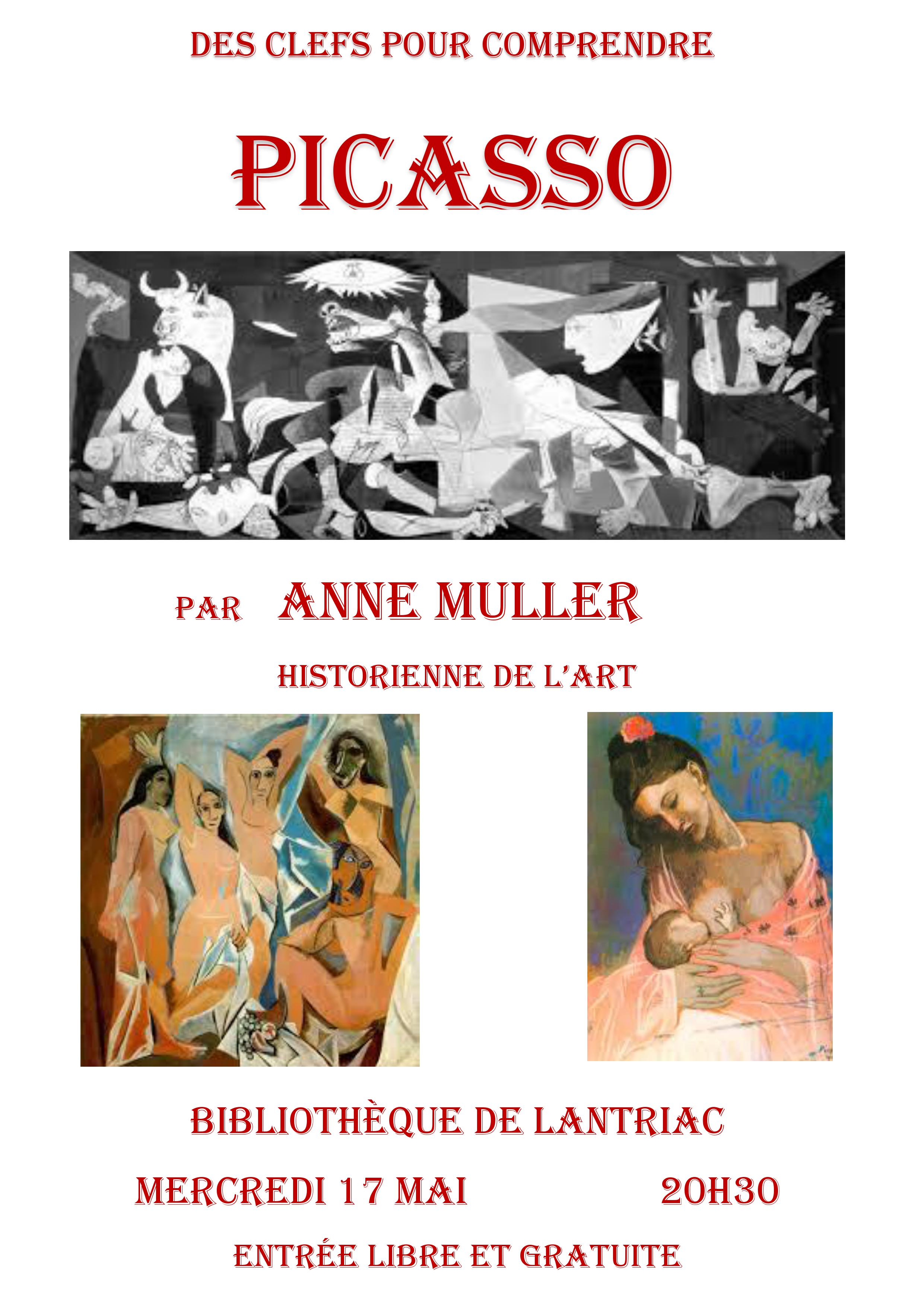 image affiche Picasso